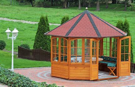 pavillon gross garten pavillons gartenlaube und carport dachdecker