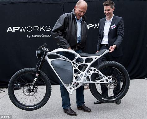 Motorrad Online Email by Airbus Unveils 56k 3d Printed Electric Motorcycle Daily