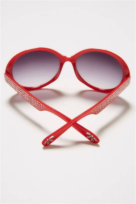 background images in div sunglasses with diamante detail uv protection