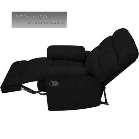 black microfiber recliner new black microfiber recliner wall hugger lazy chair
