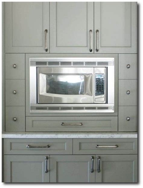 gray green cabinet paint color cottage kitchen benjamin in