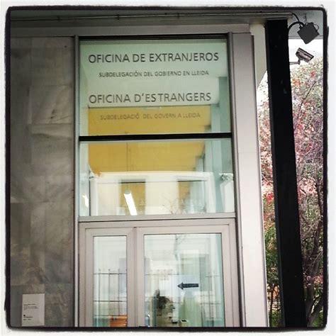 oficina extranjeria valencia cita previa en oficina de extranjeros lleida