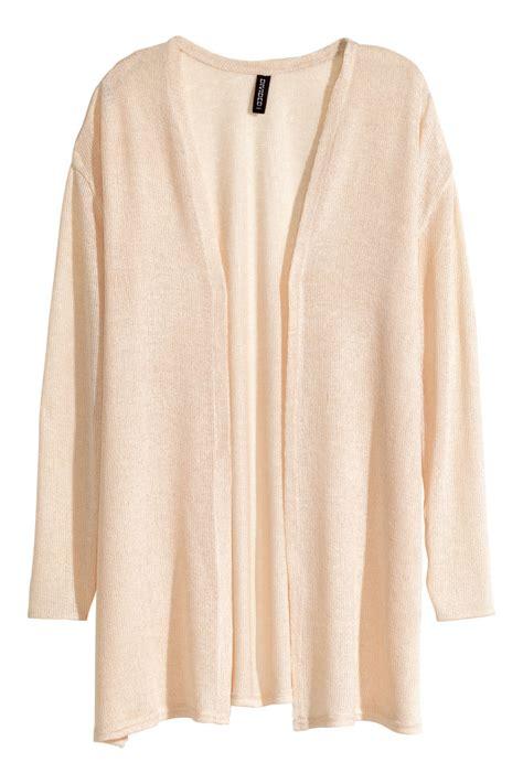 Cardigan Lp 5 knit cardigan powder beige h m us
