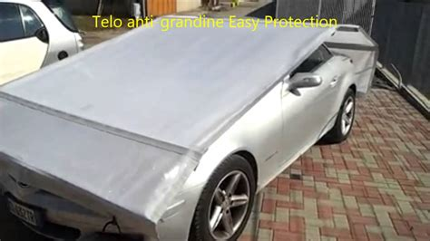 tenda copriauto telo antigrandine easy protection