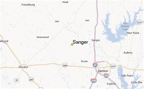 where is sanger texas on the map sanger weather station record historical weather for sanger texas