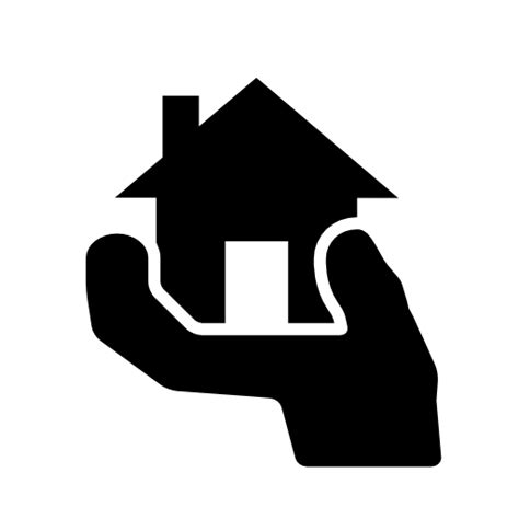 hands on house hands on house icon free icons download