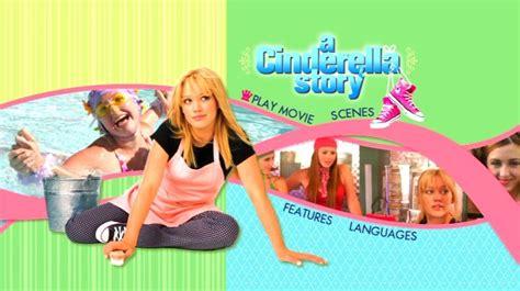 film cinderella story 2004 a cinderella story 2004 dvd movie menus
