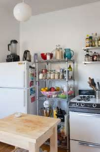 storage ideas for small apartment kitchens 12 smart ways to use wire shelves in your kitchen