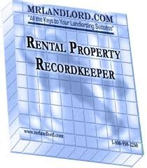 Rental Property Record Keeping Landlord Resources Rental Forms