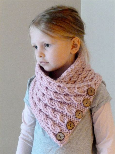 how to knit cowl neck scarf knit toddler cowl scarf button neck by