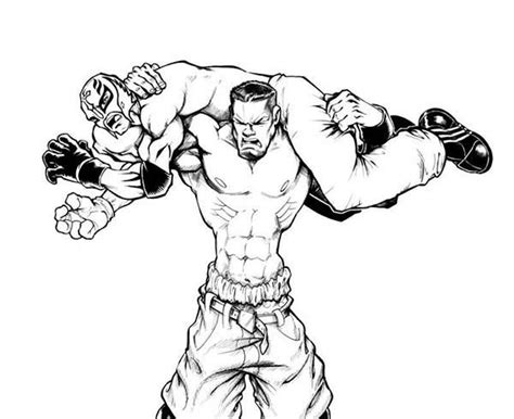 coloring pages wwe wrestlers wwe wrestling coloring pages art and craft d i y things
