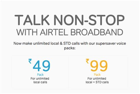 Free Non Stop Unlimited Appstore Activate Airtel Unlimited Calling For Broadband Customers