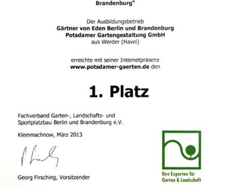 ausbildung garten und landschaftsbau brandenburg stellenangebote berliner g 228 rten g 228 rten f 252 r berlin und