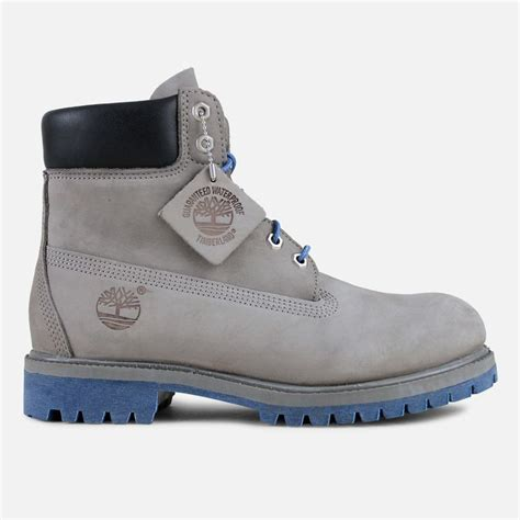 timberland classic 6 quot suede boot grey blue sole swag