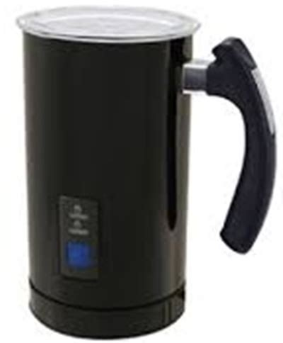 classic 250ml electric black milk frother creative cookware