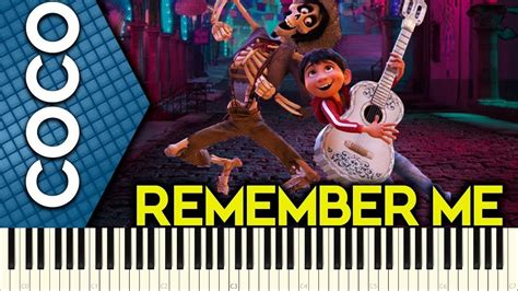 coco ost remember me remember me coco ost piano tutorial youtube