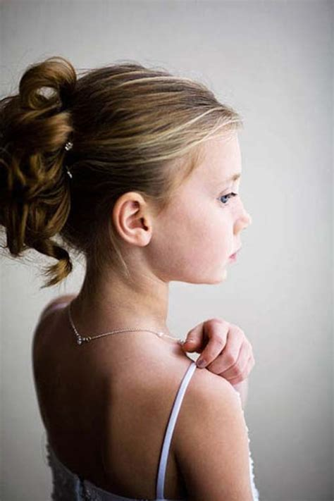 girl hairstyles for wedding hairstyles for flower girls with tiara