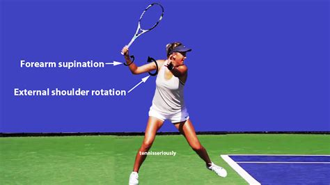 can you use and shoulders on dogs forehand how azarenka creates racquet speed talk tennis