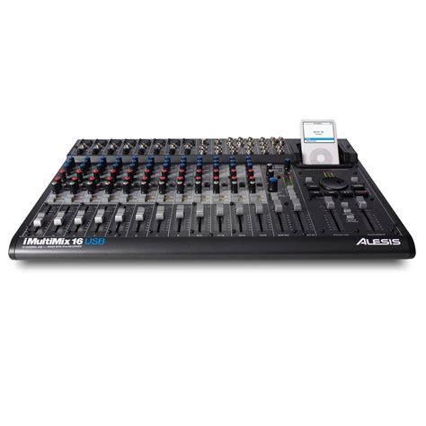 Mixer Crimson 16 Channel alesis imultimix 16 usb 16 channel usb mixer