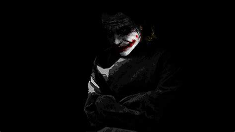 joker black and white wallpaper hd black background jocker the dark knight the joker