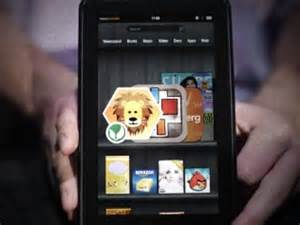 kindle fire monthly ad impressions in the hundreds of