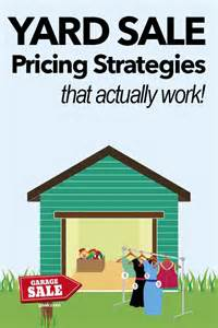 yard sale pricing tips that you don t want to miss