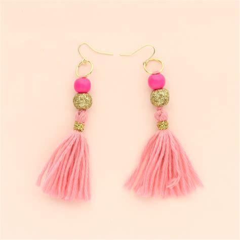diy it simple tassel earrings a kailo chic