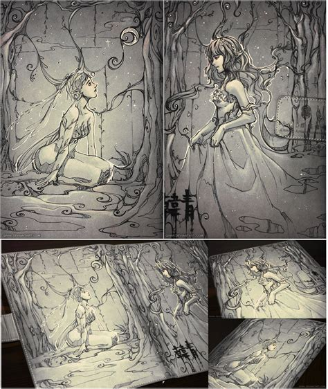 sketchbook ideas sketchbook drawing ideas forests of fairies a sketchbook cover doodle by qinni on