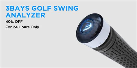 3bays golf swing analyzer touch of modern 40 off early bird specials the firefly