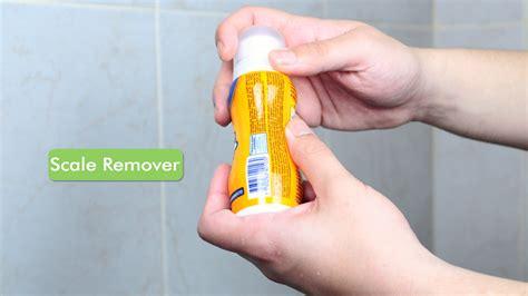 pulire soffione doccia 4 modi per pulire il soffione della doccia wikihow