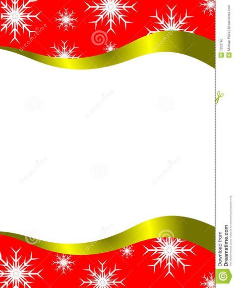 christmas letter template stock vector illustration