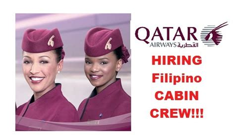 qatar airways cabin crew qatar airways hiring cabin crew in manila clark cebu