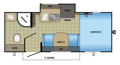 Forest River Rv Floor Plans by Jayco Introduces The Hummingbird The Small Trailer