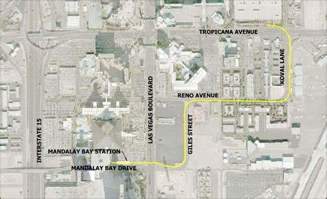 las vegas tram map mandalay bay extension las vegas monorail