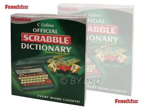 scrabble divtionary franklin collins official scrabble dictionary electronic