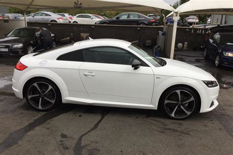 Used Audi Tt Coupe by Used Audi Tt Coupe 2 0t Fsi S Line 2dr S Tronic 201