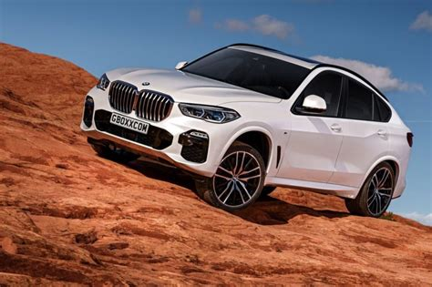 Bmw X6 2020 by 2020 Bmw X6 Rendered Based On G05 X5 Design