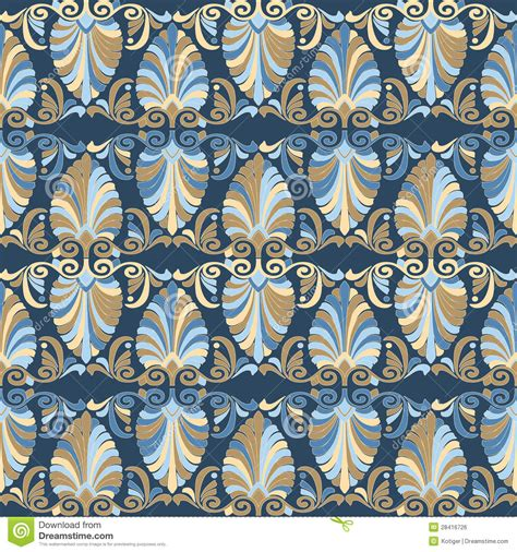 art pattern maker seamless greek art nouveau pattern royalty free stock