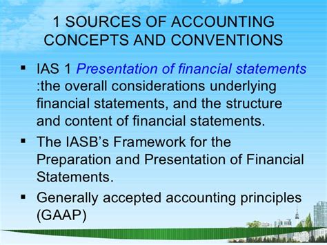 Mba Finance Accounting by Accounting Conventions Ppt Mba Finance