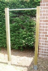 backyard pull up bar garden pull up chin up bar pull up diy pull up bar and