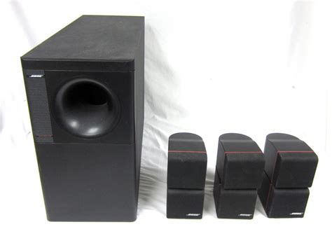 bose acoustimass  home theater subwoofer system