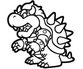 bowser coloring pages printable mario 3d land bowser characters coloring