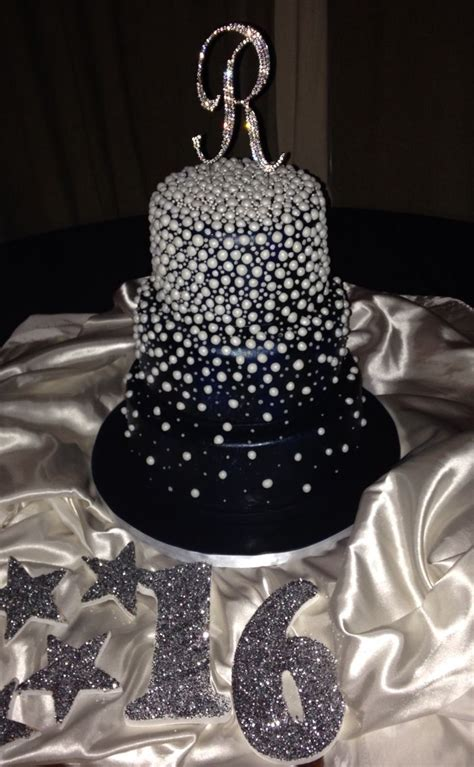 quinceanera themes under the stars under the stars cake july 2015 sweet 16 bday party