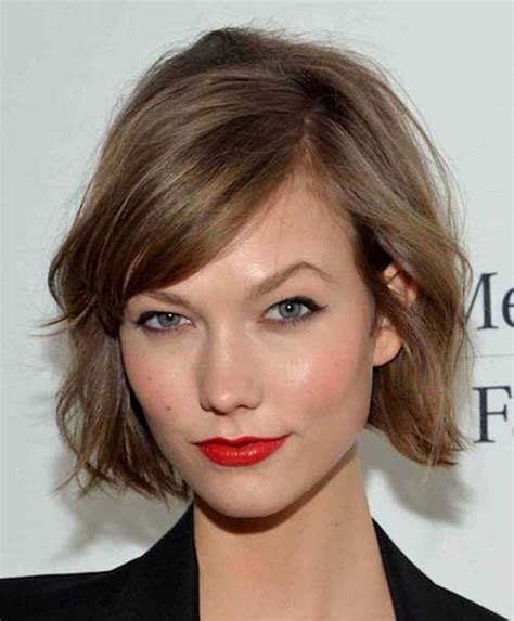side cut hairstyles short bob with side swept bangs the best short