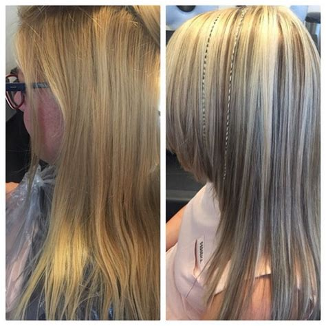 Pictures Of Blonde Hair With Red Highlights