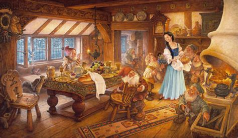 Snow White And The Seven Dwarfs Cottage by Slipper Diary Words Along The Way Page 2
