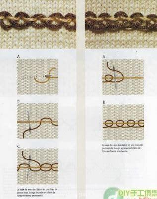 puntos bordado a mano como bordar un tejido mimundomanual