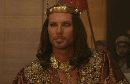 biography of xerxes luke goss as king xerxes in one night with the king