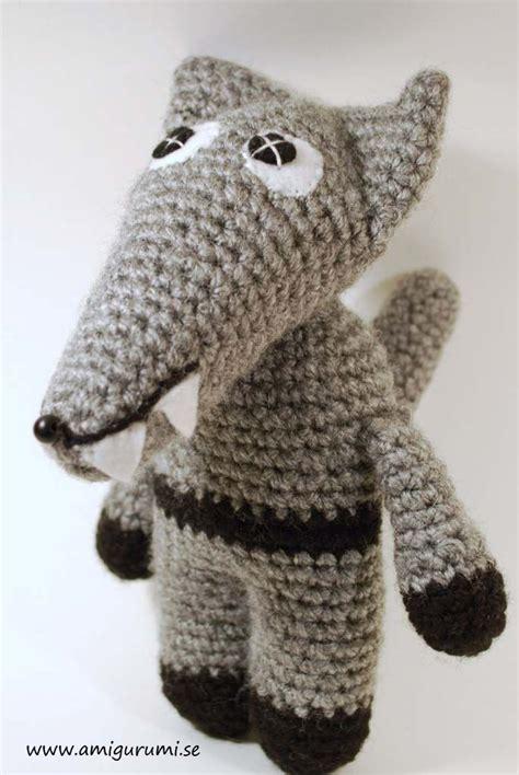 crochet pattern amigurumi wolf 31 beste afbeeldingen over haken fun op pinterest gratis