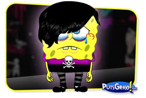imagenes emo de bob esponja bob esponja emo by putsgrilo on deviantart